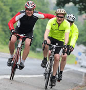 London to Reims cycle ride 2012
